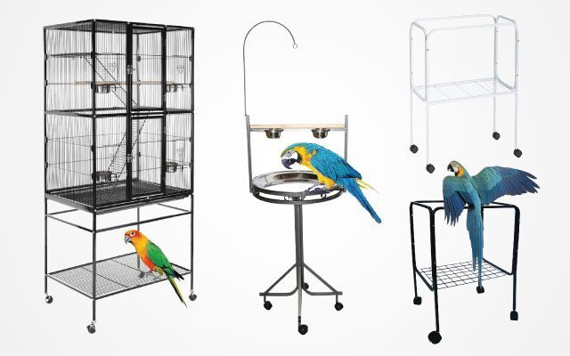 8 Best Bird Cage Stands 2019